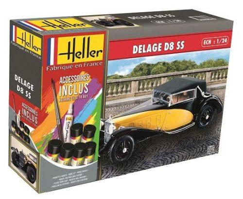 158 pieces Neu Heller 56706-1:24 BUGATTI T.50