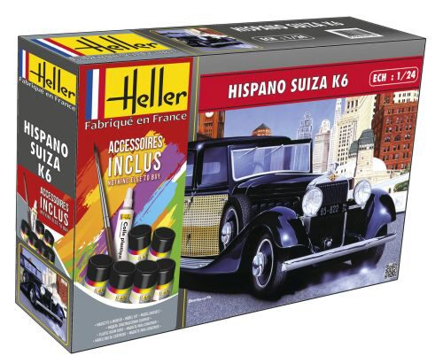 Heller 56704 Hispano Suiza K6 (m. accessories)