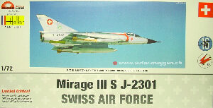 Heller 85001 Mirage III S Swiss Air Force