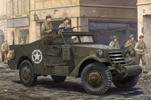 Hobby-Boss 82452 1/35 M3A1 White Scout Car