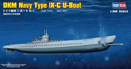Hobby-Boss 83508 1/350 DKM Type IX-C U-Boot