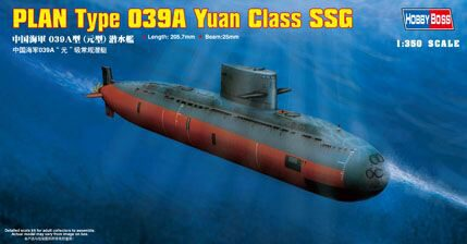 Hobby-Boss 83510 1/350 PLAN Type 039A Yuan Cla