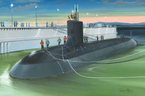 Hobby-Boss 83513 1/350 SSN-774 USS Virginia