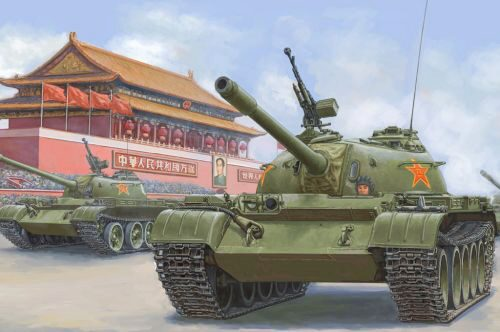 Hobby Boss 84539 PLA 59 Medium Tank-early