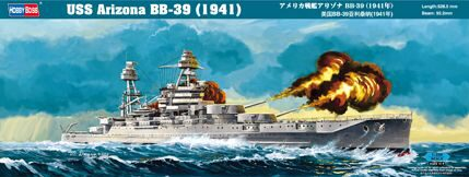 Hobby-Boss 86501 1/350 BB-39 USS Arizona, 1941