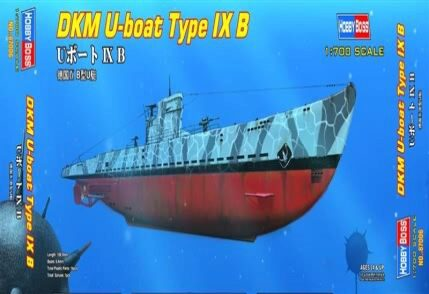 Hobby-Boss 87006 1/700 DKM U-Boot Type IX B