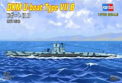 Hobby-Boss 87008 1/700 DKM U-Boot Type VII B