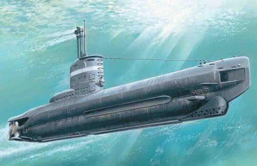 ICM S.004 U-Boat Type XXIII, WWII German Submarine
