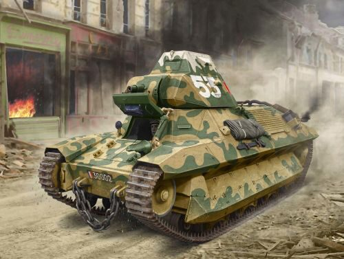 ICM 35336 FCM 36, WWII French Light Tank