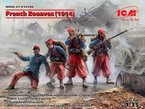 ICM 35709 French Zouaves (1914) (4 figures)