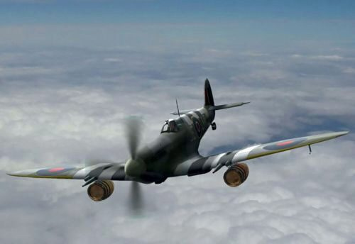 "ICM 48060 Spitfire Mk.IXC ""Beer Delivery"" WWII British Fighter"