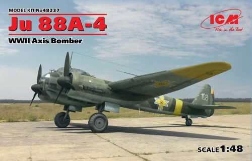 ICM 48237 Ju 88A-4, WWII Axis Bomber