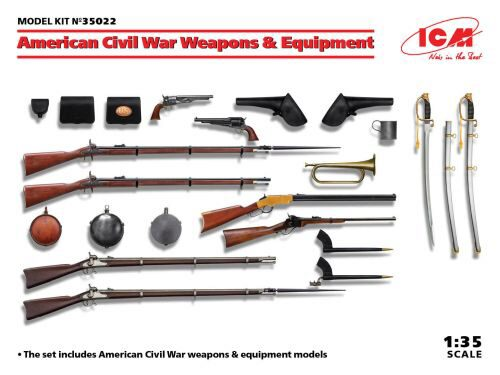 ICM 35022 American Civil War Weapons & Equipment