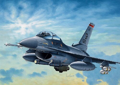 Italeri 0188 F - 16 C/D NIGHT FALCON