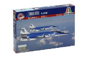 Italeri 1344 F-104 Starfighter Aerobatic team