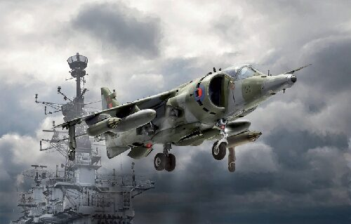 Italeri 1401 HARRIER GR.3