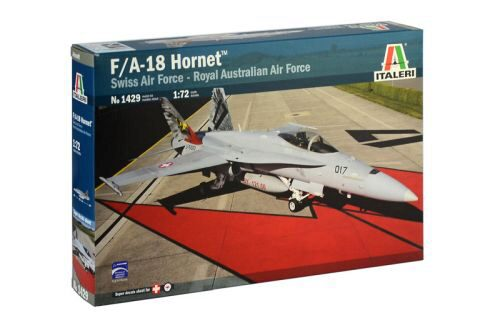 Italeri 1429 F/A18 Hornet Swiss Air Force