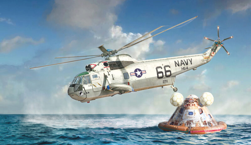 Italeri 1433 SH-3 Sea King
