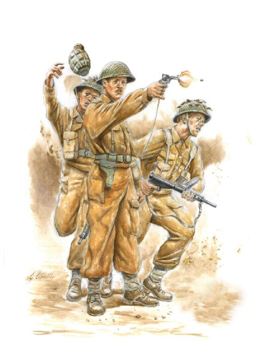 Italeri 15604 WWII BRITISH COMMONWEALTH INFANTRY