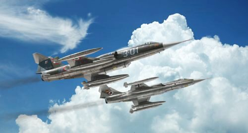 Italeri 2514 F-104G Recce (upgraded edition)