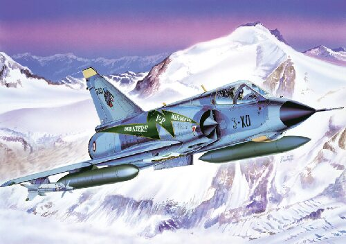 Italeri 2634 Mirage III E Swiss Air Force J-2311