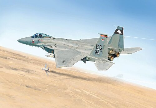 Italeri 2763 F-15C ''EAGLE'' - GULF WAR 25th ANNIVERSARY