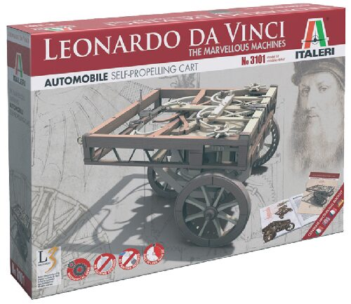 Italeri 3101 SELF - PROPELLING CART