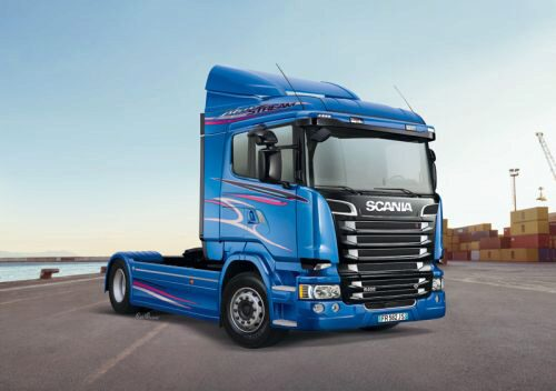 Italeri 3947 Scania R400 Streamline (Flat Roof)