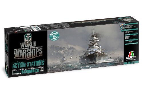 Italeri 46501 World of Warships - German Battleship Bismarck