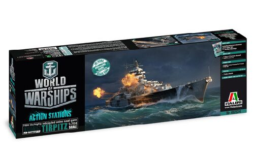Italeri 46504 World of Warships : TIRPITZ 1:700