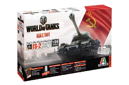 Italeri 56506 World of Tanks 1:56 - IS-2