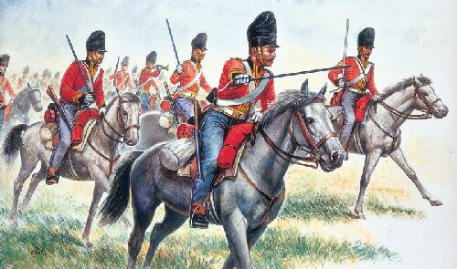 Italeri 6001 British Heavy Cavalry
