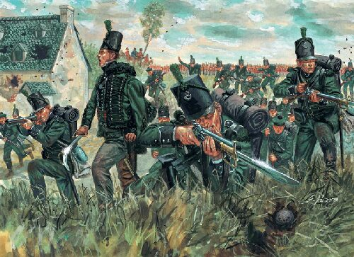 Italeri 6083 WATERLOO (200years) 95th rgt. ''Green Jackets''