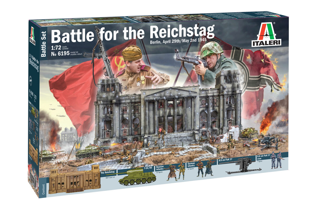 Italeri 6195 Battle-Set 1945 Fall of the Reich