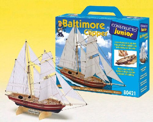 CONSTRUCTO 23421 Baltimore Clipper Junior-Bausatz