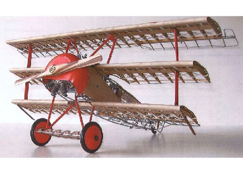 MODEL AIRWAYS 24040 Fokker DR1 Dreidecker Standmodell