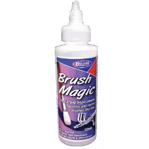 DELUXE MATERIALS 44065 Brush Magic Airbrush+Pinselreiniger 125 ml