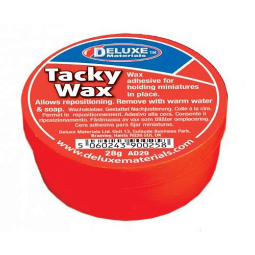 Deluxe materials 44086 Fixierwachs - Tacky Wachs  28g  AD29