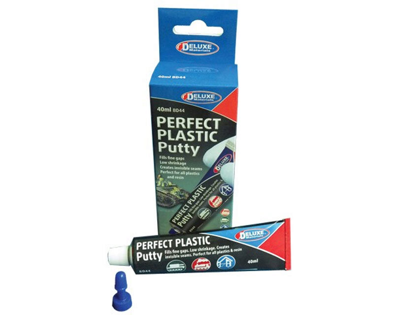 DELUXE MATERIALS 44089 Perfect Plastic Putty Spachtel 40ml Tube  DELUXE