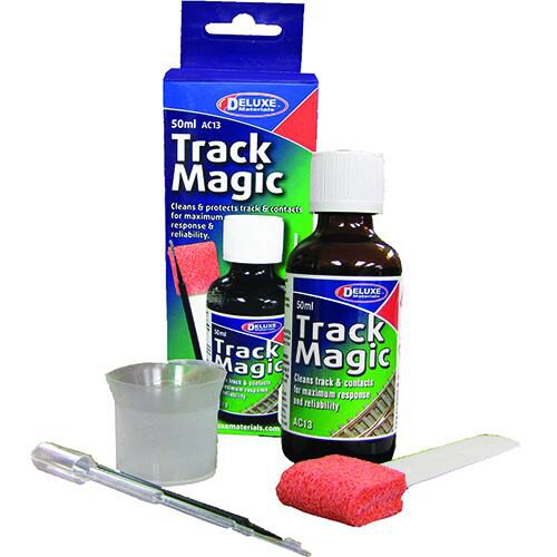 DELUXE MATERIALS 44090 Track Magic Reinigungsfluid 50ml  DELUXE