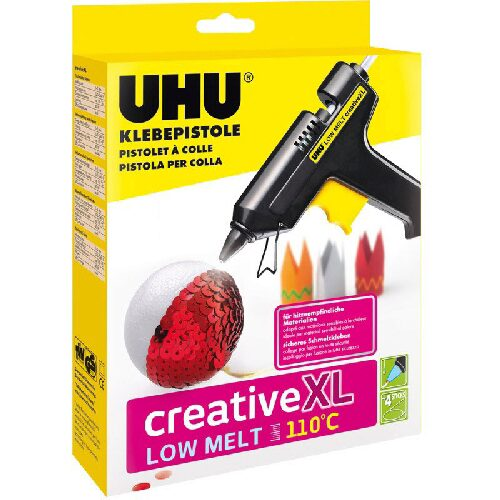 UHU 48615 UHU Klebepistole LOW MELT Creative 110°C XL