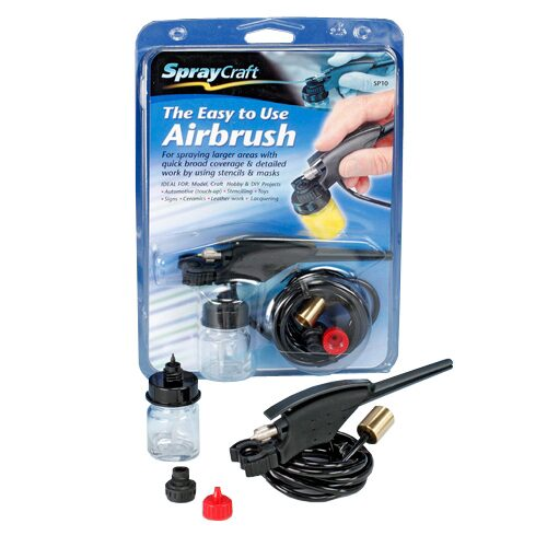 Spraycraft 493210 Easy-to-Use Airbrush Pistole SP10