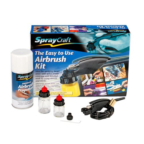 Spraycraft 493211 Easy-to-Use Airbrush Set SP10