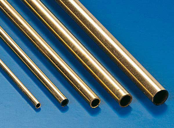 Krick 81132 Messingrohr 3 x 2,1 mm