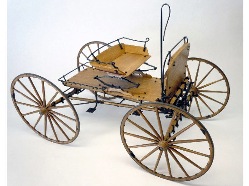 MODEL TRAILWAYS MS6004 Buckboard Kutsche 1:12 Bausatz