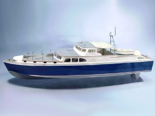 DUMAS BOATS ds1211 Dauntless Motoryacht Bausatz