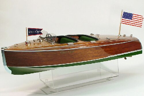 DUMAS BOATS ds1234 Chris-Craft Barrel Back 1940 RC Bausatz