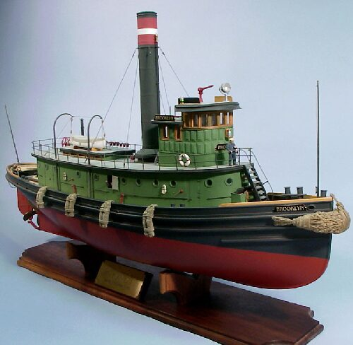 DUMAS BOATS ds1238 Brooklyn Schlepper RC Bausatz