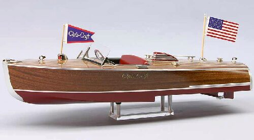 DUMAS BOATS ds1254 Chris-Craft Hydroplane 16ft. 1941  RC Bausatz