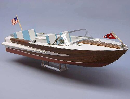 DUMAS BOATS ds1255 Chris-Craft Super Sport 20ft. 1964 RC Bausatz